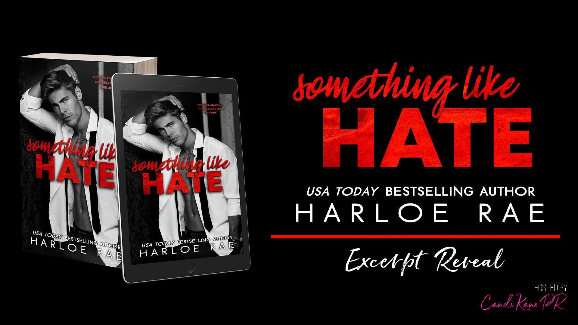 Excerpt Reveal:  Something Like Hate by Harloe Rae